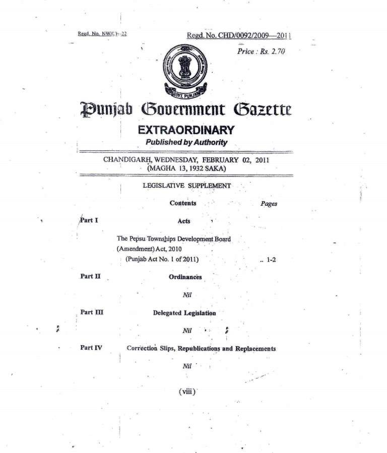Amended act 2011-1