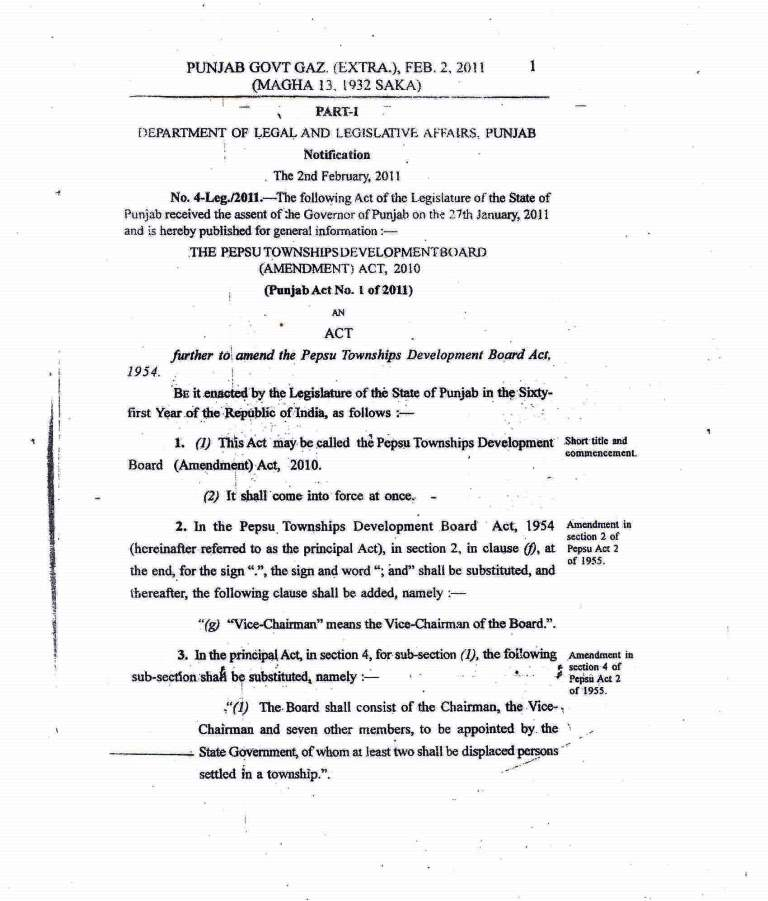 Amended act 2011-2